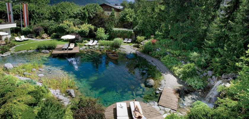 Hotel Salzburgerhof, Zell am See, Austria - hotel garden.jpg